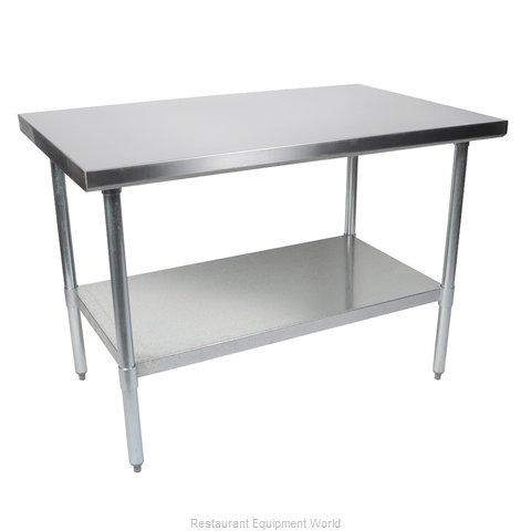 John Boos FBLG7224 Work Table,  63