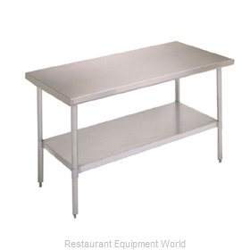 John Boos FBLG7230SHF Undershelf for Work Prep Table