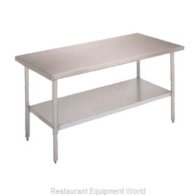 John Boos FBLS6024SHF Undershelf for Work Prep Table
