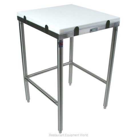 John Boos GMT003 Work Table, Poly Top
