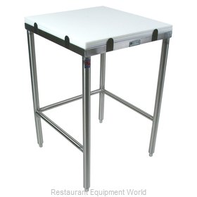 John Boos GMT015 Work Table, Poly Top