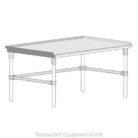John Boos GS6-2460GBK Equipment Stand, for Countertop Cooking