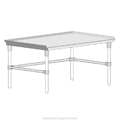 John Boos GS6-2472GBK Equipment Stand, for Countertop Cooking