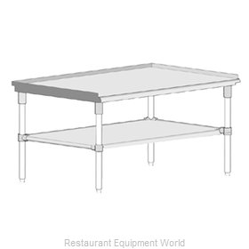 John Boos GS6-2472GSK Equipment Stand, for Countertop Cooking