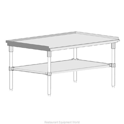 John Boos GS6-3018GSK Equipment Stand, for Countertop Cooking