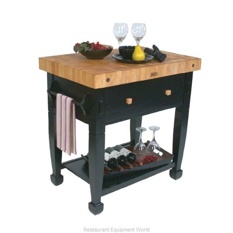 John Boos JASMN36243-D-S Butcher Block Unit
