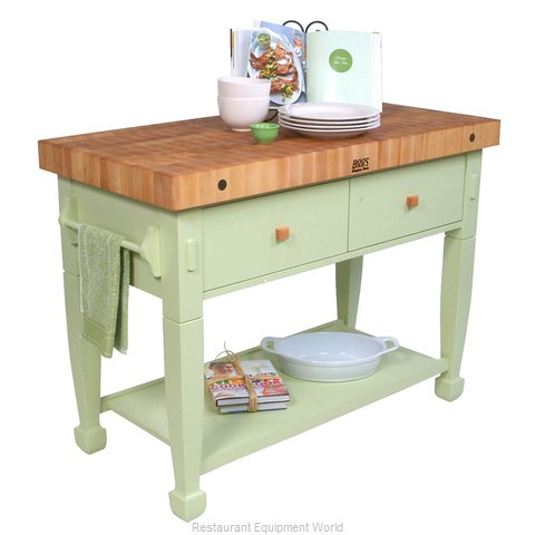 John Boos JASMN48243-2D-S Butcher Block Unit