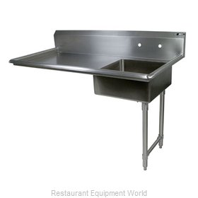 John Boos JDTS-20-50UCR-X Dishtable, Soiled, Undercounter Type