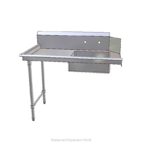John Boos JDTS-20-60R Dishtable Soiled