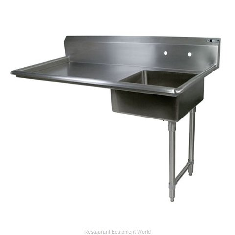 John Boos JDTS-20-60UCR Dishtable Soiled Undercounter Type (Magnified)