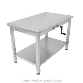 John Boos LT6-3060SSW-X Work Table,  54