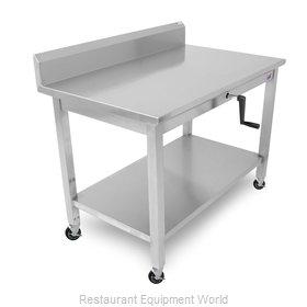 John Boos LT6R5-3060SSW-C Work Table,  54