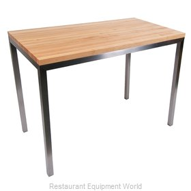 John Boos MET-CNTR4824 Table, Utility