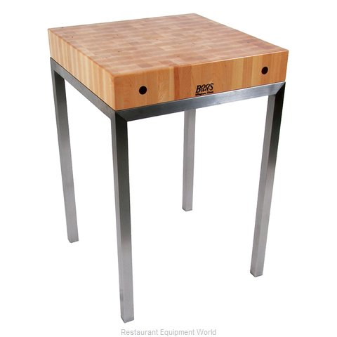 John Boos MET-STN24 Table, Utility (Magnified)