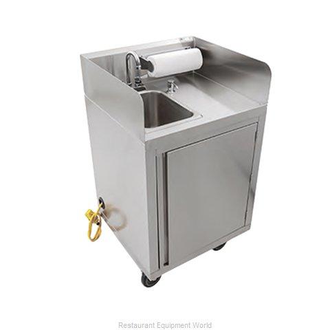 John Boos MHS-2624-X Hand Sink, Mobile