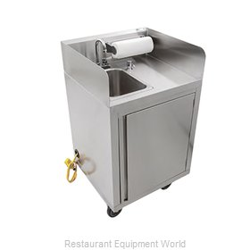 John Boos MHS-2624 Hand Sink, Mobile