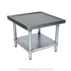 John Boos MS4-2424SSK Equipment Stand, for Mixer / Slicer