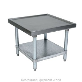 John Boos MS4-3030GSK-X Equipment Stand, for Mixer / Slicer
