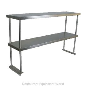 John Boos OS-ED-1236-X Overshelf, Table-Mounted
