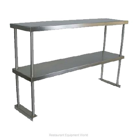 John Boos OS-ED-1272 Overshelf, Table-Mounted