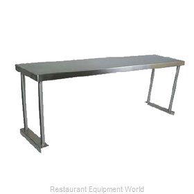 John Boos OS-ES-1848-X Overshelf, Table-Mounted