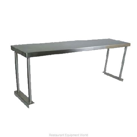 John Boos OS-ES-1860 Overshelf, Table-Mounted