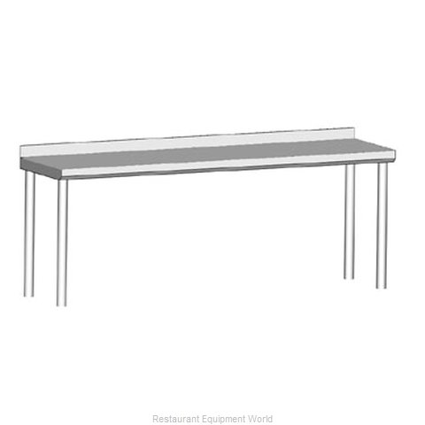 John Boos OS Overshelf Table-Mounted Cantilever Type