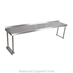 John Boos OS06S-C Overshelf, Table-Mounted
