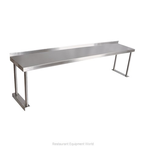John Boos OS06S Overshelf, Table-Mounted
