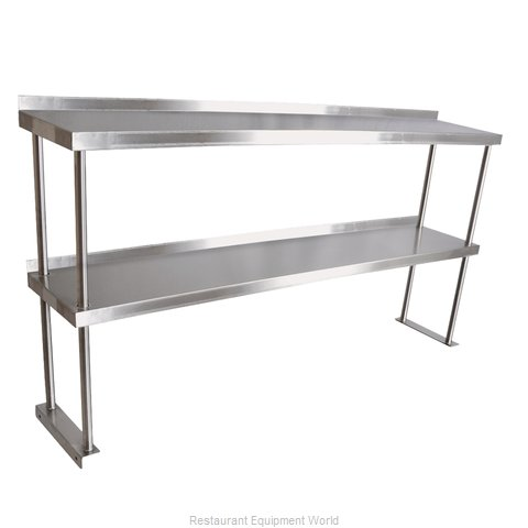 John Boos OS07SA-C Overshelf Table Mounted