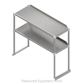 John Boos OSE26RK-1848 Overshelf, Table-Mounted