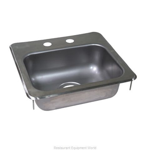 John Boos PB-DISINK151506 Sink, Drop-In