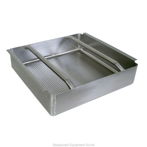 John Boos PB-DTA-24 Dish Table Pre-Rinse Basket with welded slide bar fits 20