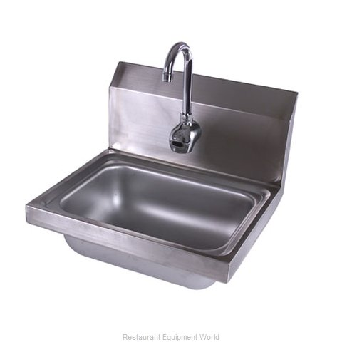 John Boos PBHS-1410-EE Sink, Hand (Magnified)