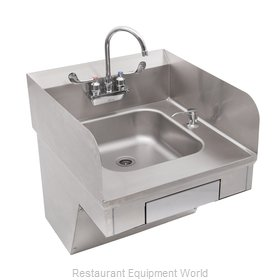 John Boos PBHS-ADA-P-STD-SSLR-X Sink, Hand