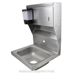 John Boos PBHS-W-1410-1-SDTD Sink, Hand