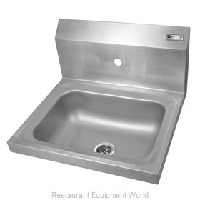 John Boos PBHS-W-1410-1-X Sink, Hand