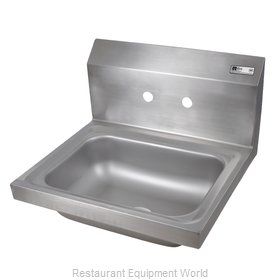 John Boos PBHS-W-1410-4D-X Sink, Hand