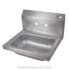 John Boos PBHS-W-1410-4D Sink, Hand