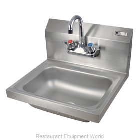 John Boos PBHS-W-1410-PD Sink, Hand