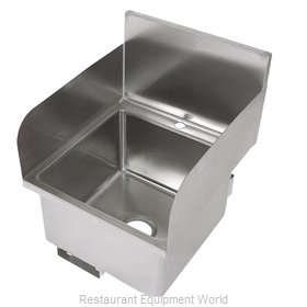 John Boos PBHS-W-1616-SSLR-X Sink, Hand