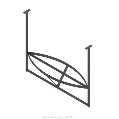 John Boos PRB02-C Pot Rack Ceiling Hung