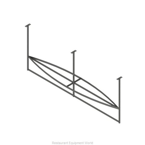 John Boos PRB04A-C Pot Rack Ceiling Hung