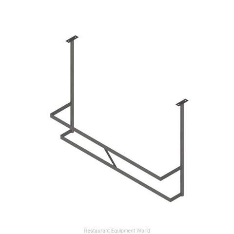 John Boos PRD1A-C Pot Rack Ceiling Hung