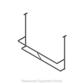 John Boos PRD3-C Pot Rack Ceiling Hung