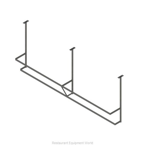 John Boos PRD3A-C Pot Rack, Ceiling Hung