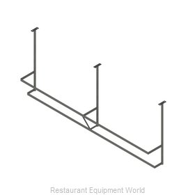John Boos PRD4A-C Pot Rack, Ceiling Hung