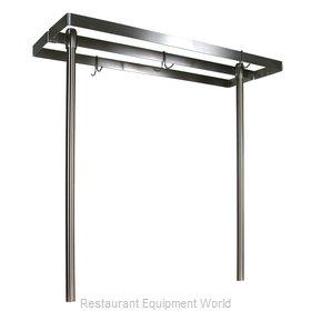 John Boos PRG60 Pot Rack Table Mounted