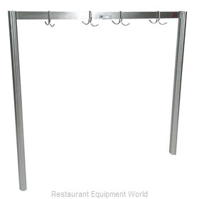 John Boos PRS4 Pot Rack Table Mounted