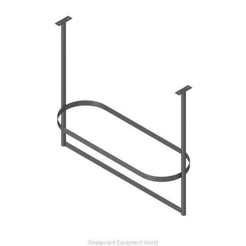 John Boos PRTC1-C Pot Rack, Ceiling Hung